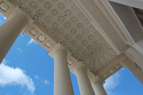 Les éléments de décoration intérieure en plâtre (corniches, moulures, rosaces, cheminées…)